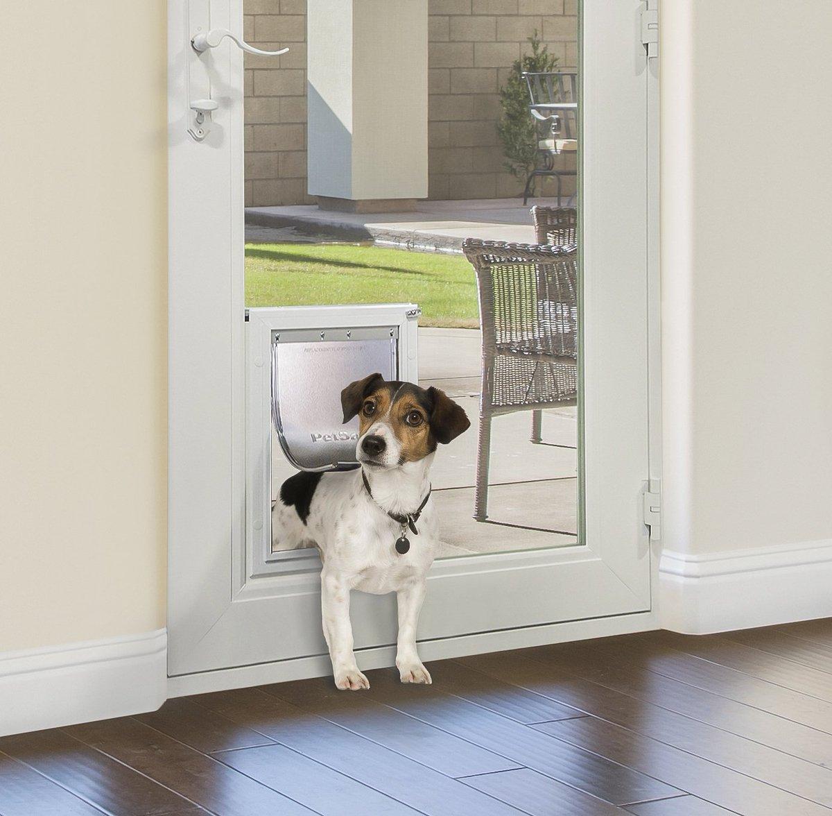 In Glass Pet Doors