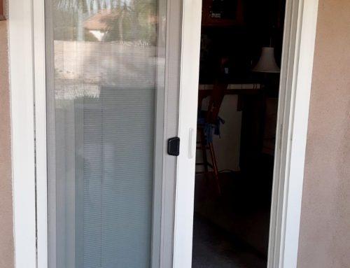 Between-the-Glass Blinds Patio Door Replacement in Bakersfield