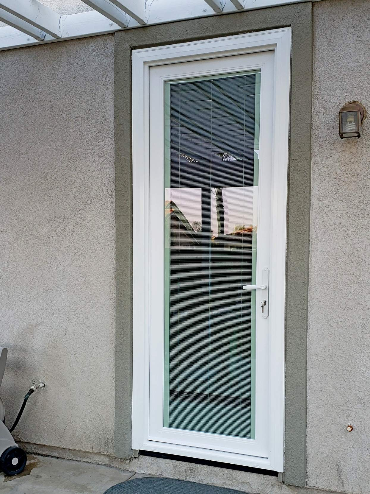 Door with Blinds between Glass Bakersfield