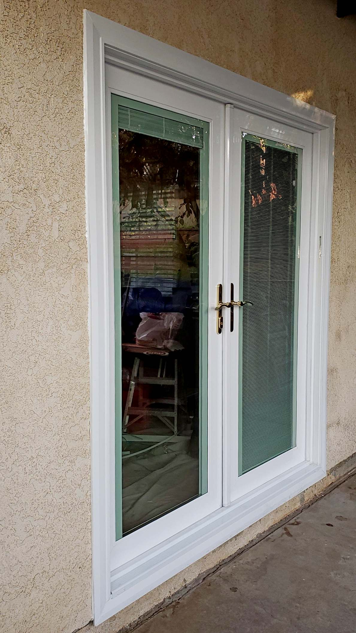 Patio Doors with Blinds between Glass Alhambra California