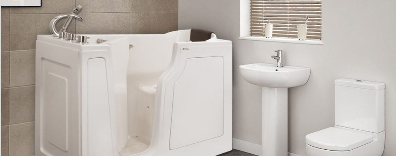 Extra Wide and Deep Walk-In Bathtubs