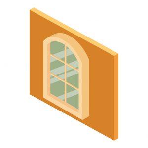Illustration of geometric windows