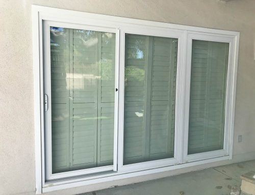 3 Panel Sliding Glass Doors Replacement in Palmdale