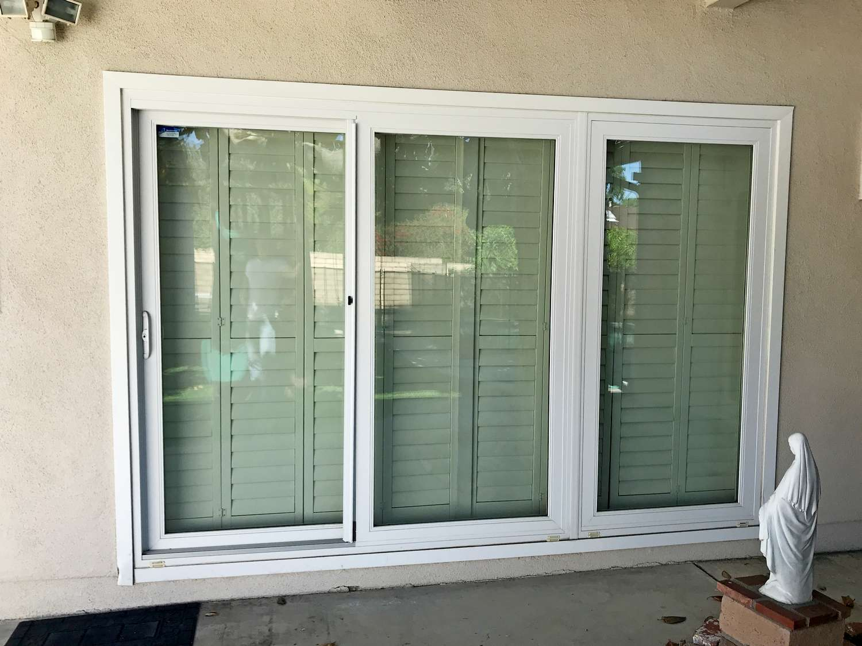 3-panel sliding doors