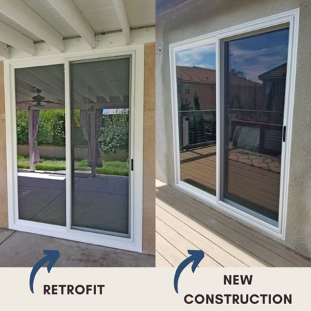 New Construction Windows vs Retrofit Windows